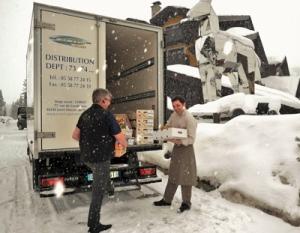 Actis Froid - Transport en haute-montagne - Départements de Savoie (73) et Haute-Savoie (74)